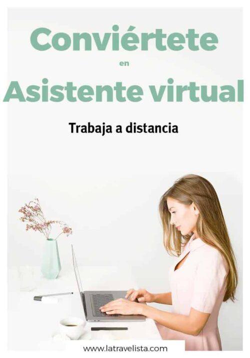 Conviértete en asistente virtual y trabaja a distancia