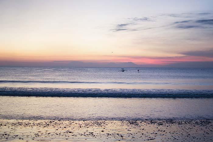 Atardecer sin filtros Bali
