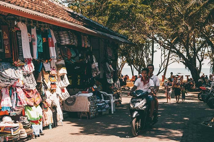 mercadillos en Bali