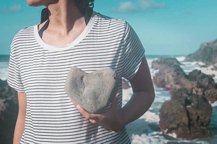 las piedras con forma