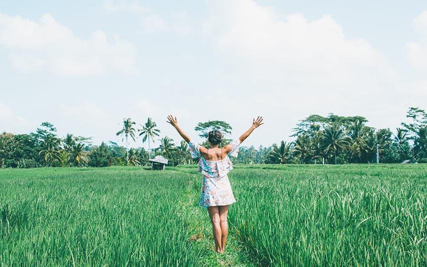 Viajar a Bali y disfrutar