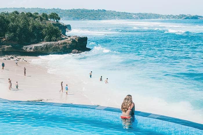 Dream beach playa nusa