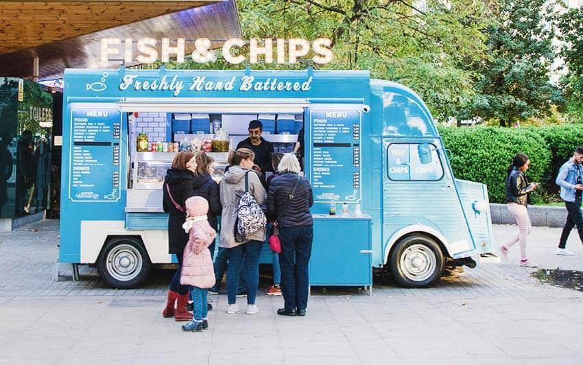 Dónde comer en Londres Inglaterra
