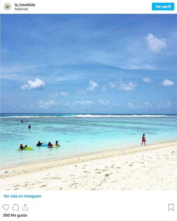 Playas bonitas Maldivas