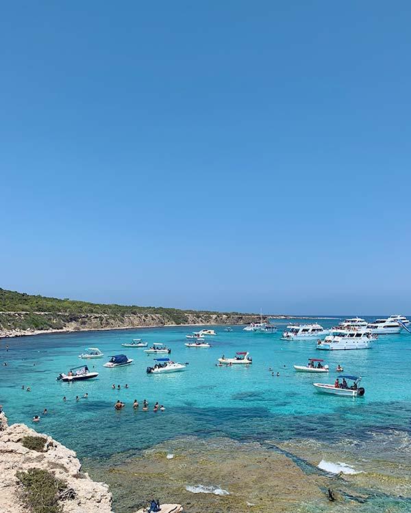 Tour en barco por Chipre