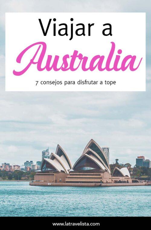 7 Consejos para viajar a Australia
