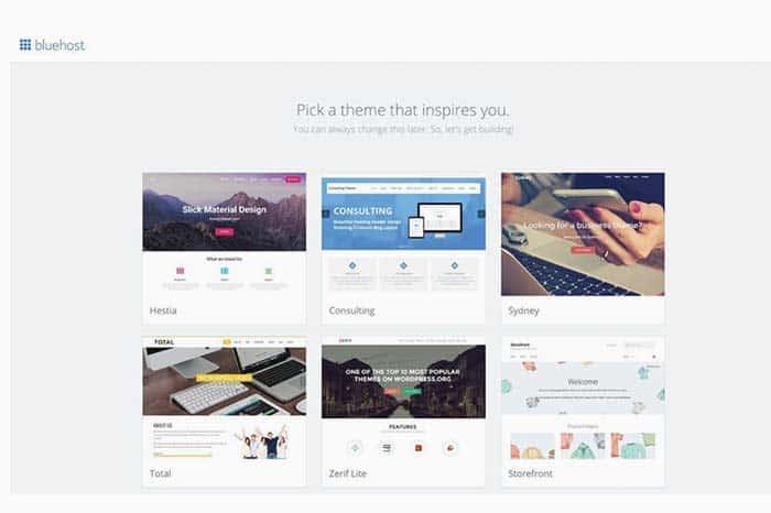 Seleccionar tema para tu blog