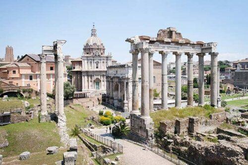 Foro Romano, en Roma
