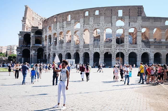 Visita el coliseo en Roma
