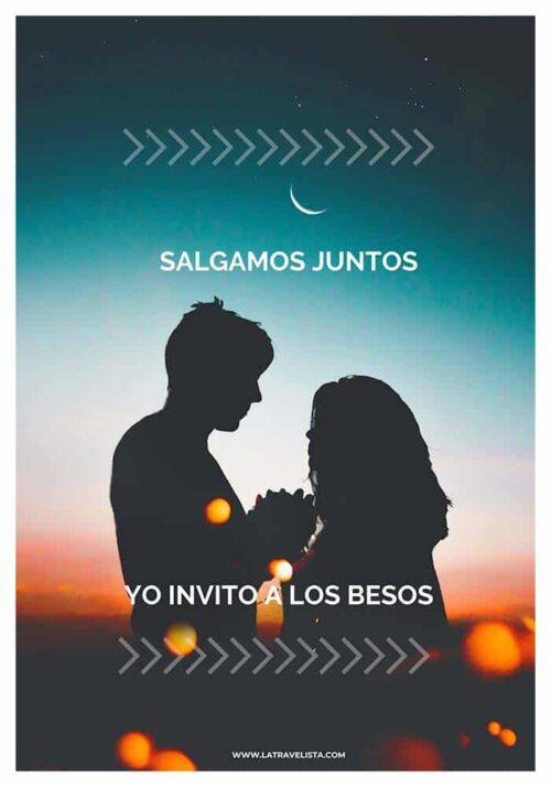 Salgamos juntos besos declaracion amor