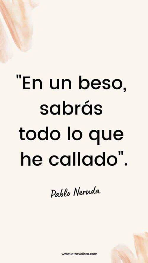 Frase amor Pablo Neruda