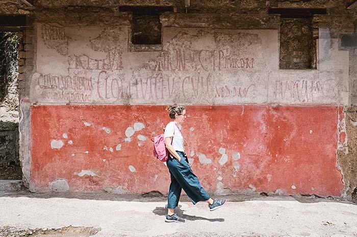 Pompeia, Nápoles