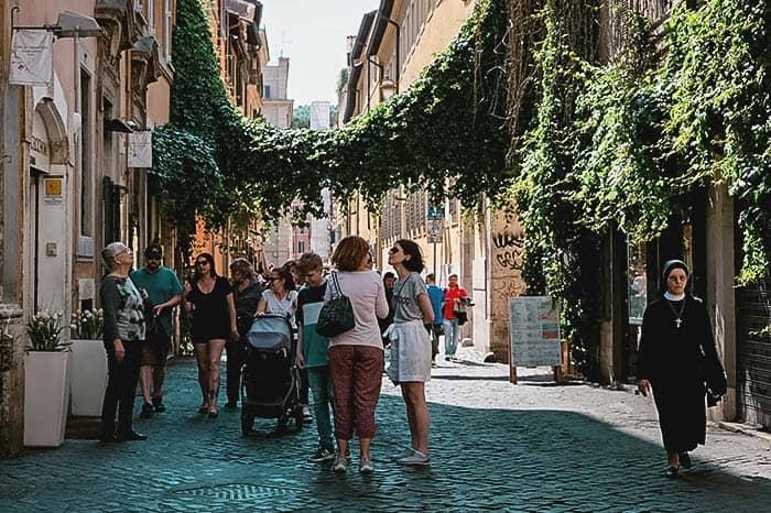 Barrio de Trastevere, la auténtica Roma