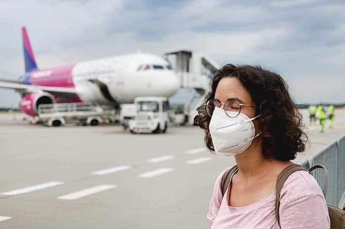 Normas viajar en avión
