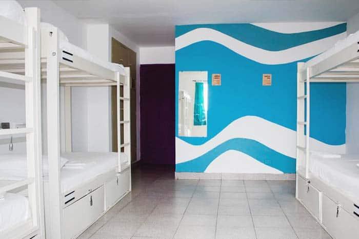 Habitación hostal el Viajero San Andrés