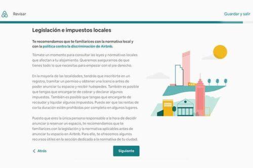Legalidad y Airbnb en la zona
