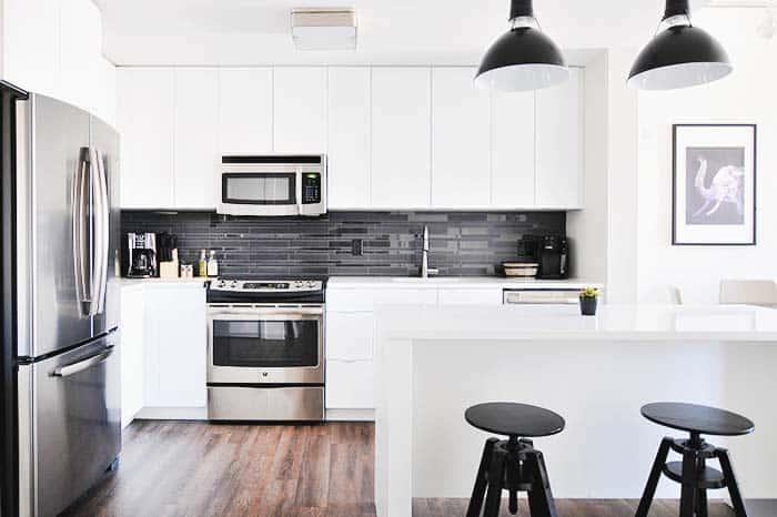 Cocina equipada en tu casa