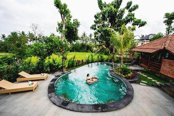 Hotel romántico en Ubud, Indonesia